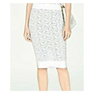 Michael Kors Sweater Pencil Skirt Knee Length